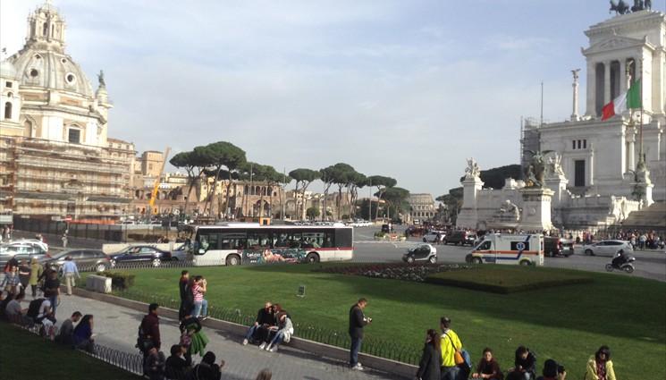 Автобусная экскурсия по риму